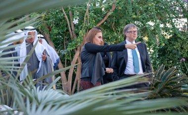 Yesterday bill gates visited the botanical garden for Garden design kuwait