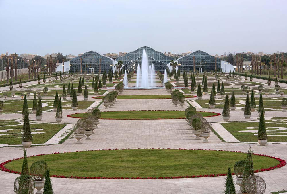 For the emir of kuwait edenparks built a botanic for Garden design kuwait