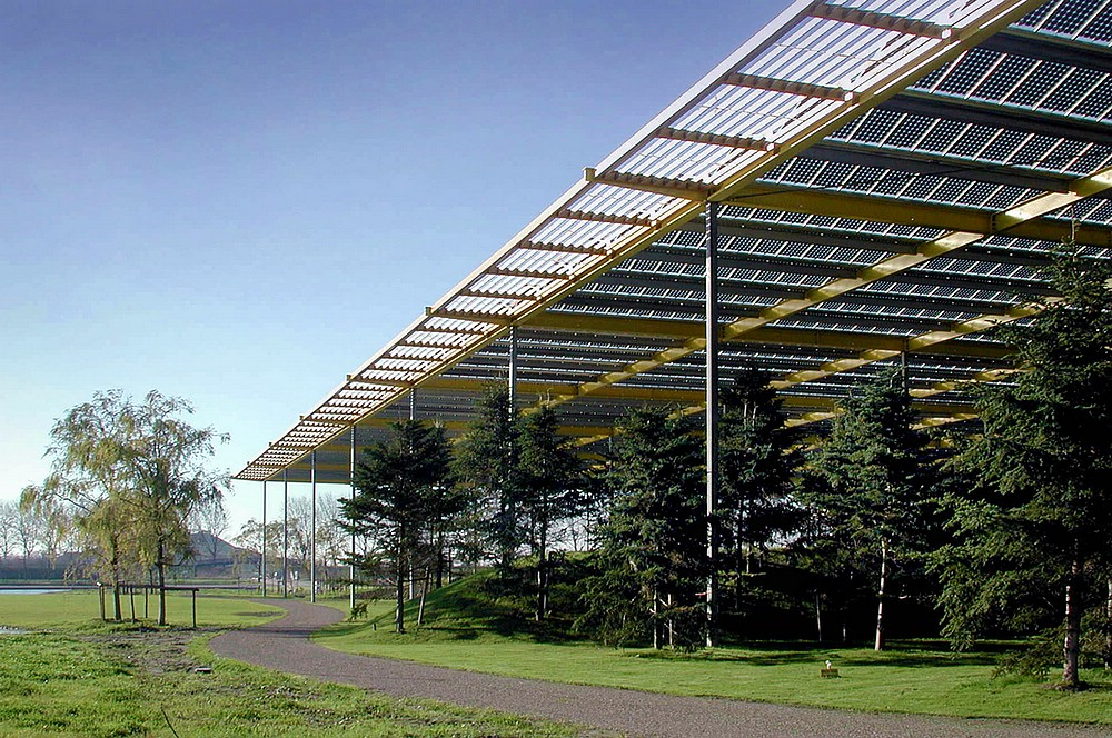 Zonnedak Op Floriade 2002 Nl